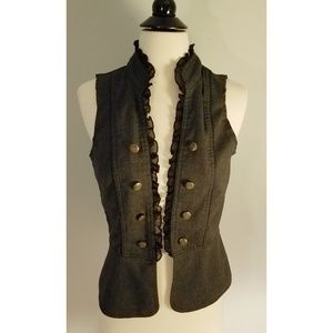 Army Green Vanity Steampunk Vest